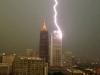 В Нью-Йорке молния ударила в самое высокое здание города