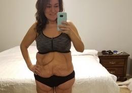 Женщина отказалась от фастфуда и сбросила 70 килограммов