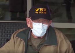 104-летний ветеран Второй мировой победил коронавирус в день рождения