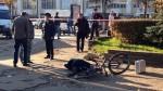 Стрельба в центре Смоленска 04-10-2014, погиб один человек