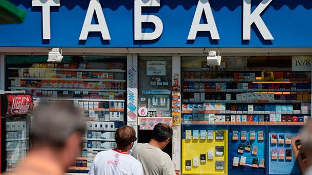 пачка сигарет по цене 800 рублей на табак