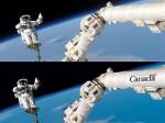 Канадское правительство рекламирует Canadarm с помощью фоторедактора
