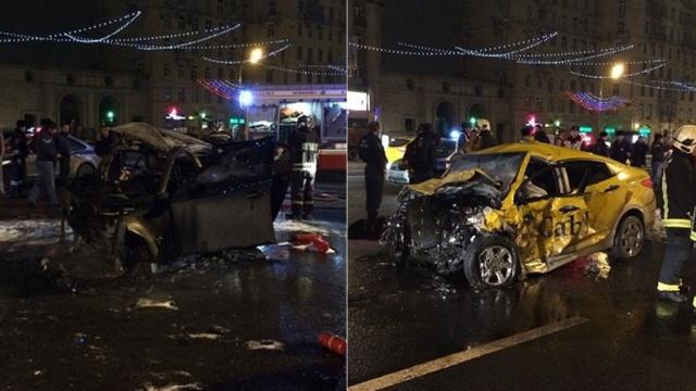авария на кутузовском проспекте фото