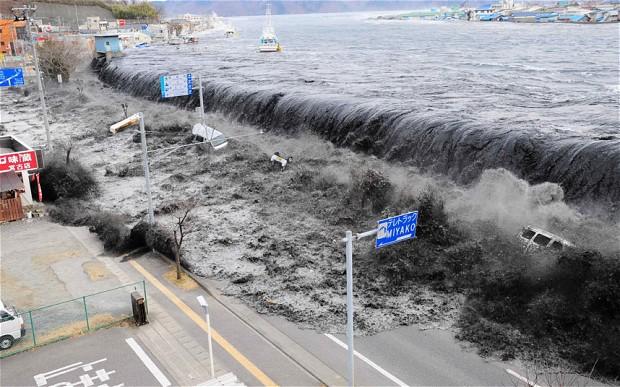 cunami v miyako japan