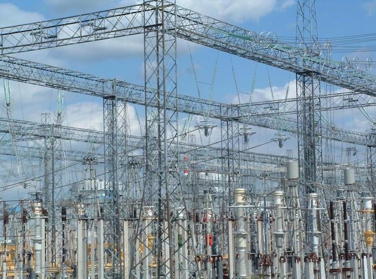 поставки энергии на украина