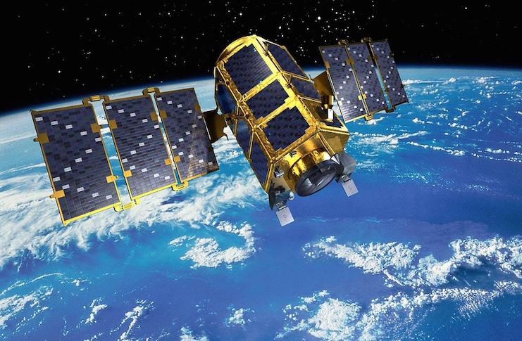 истребитель спутников в космосе