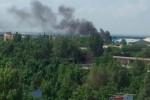 Залпы тяжелых орудий были слышны всю ночь в Донецке