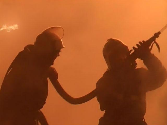 пожар на балтийской улице