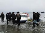 38 рыбаков спасатели сняли с оторвавшейся льдины в Новосибирской области