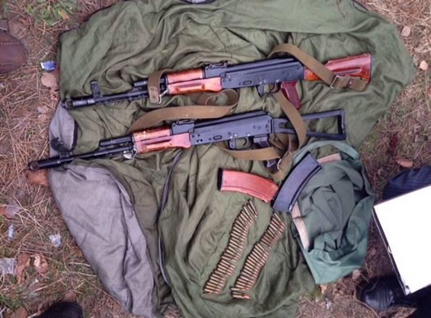 тайник с оружием таджикистан
