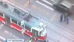 Трамвай переехал девушку 26-11-2014 в Москве