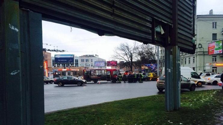 авария автобуса в санкт петербурге