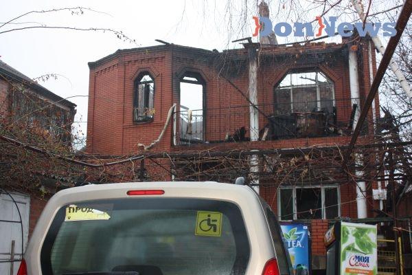 пожар в ростове на дону фото 11 декабря