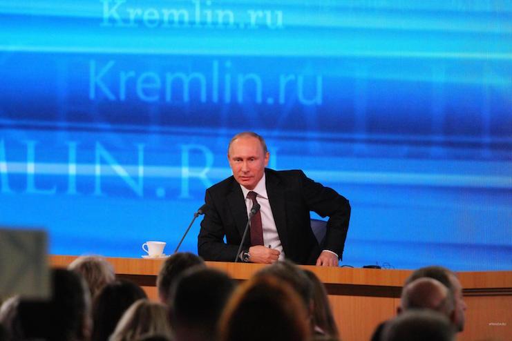 ежегодная пресс конференция путина 2014
