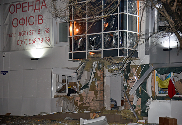 взрыв центра сбора помощи одесса фото