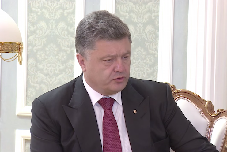 петр порошенко президент мира