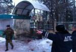 Взрыв на остановке в Ангарске 15-01-2015