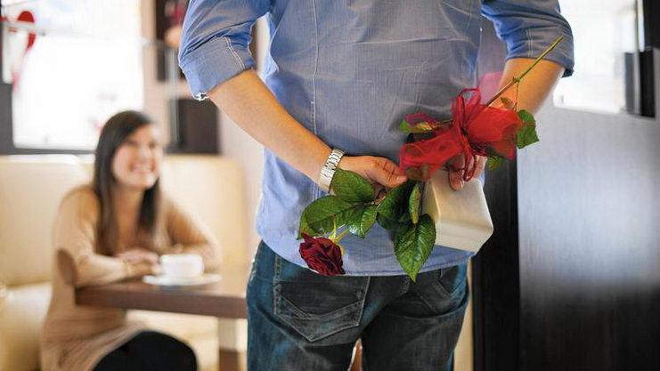 подарок цветы на день святого валентина