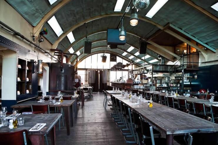 pont 13 кафе ресторан в амстердаме фото