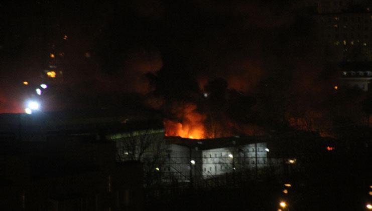 пожар на строительном рынке каширский двор