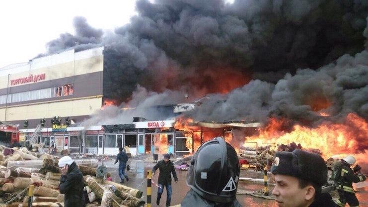 пожар в казани адмирал фото