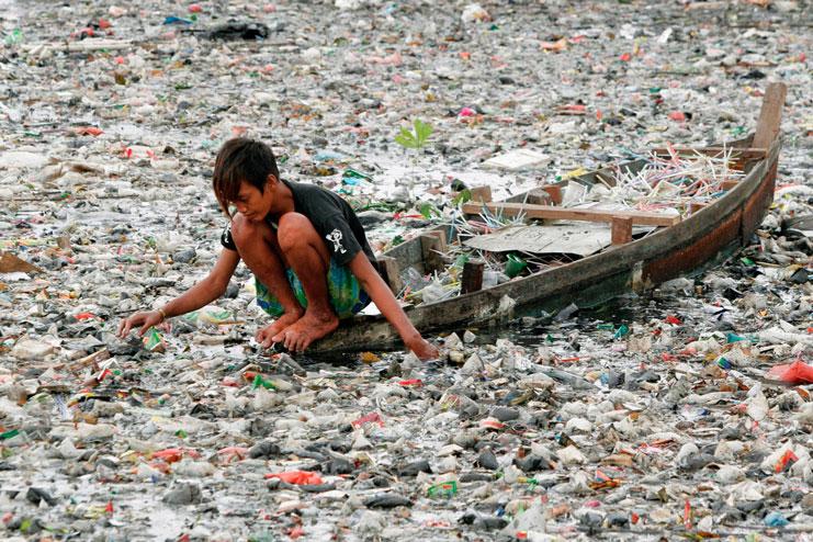 на сколько грязно в индии фото
