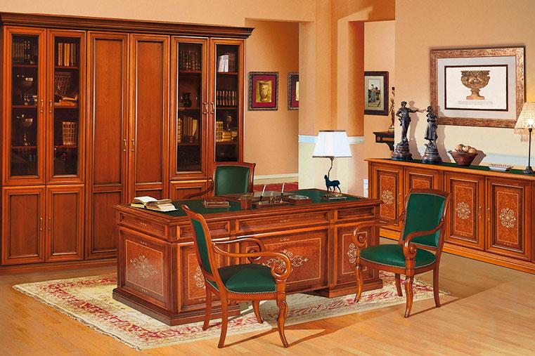 офисная мебель в кабинете директора босса фото