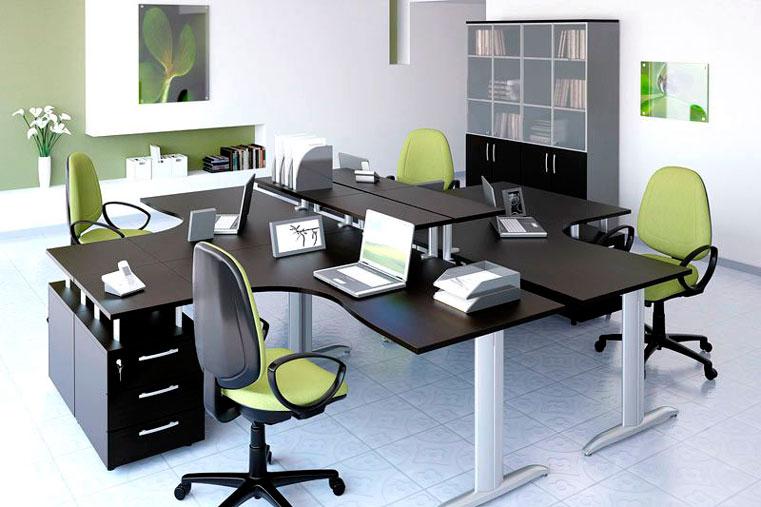 офисная мебель для сотрудников компании