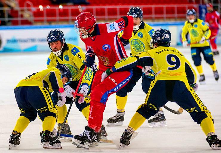 матч казахстан – россиия чемпионат мира по бенди 2015 хоккей с мячом