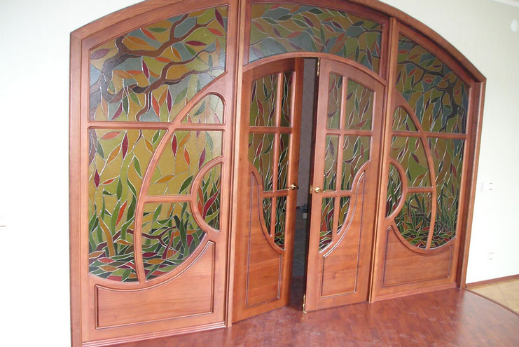 красивая дверь фото