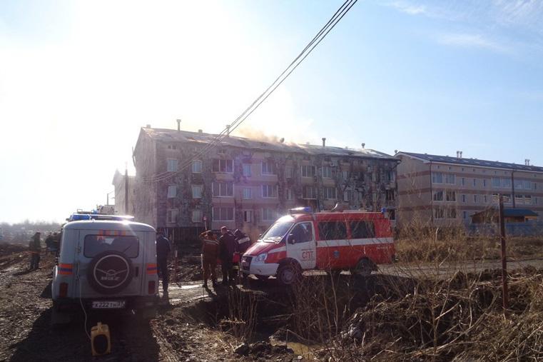 пожар в хабаровске солнечный город