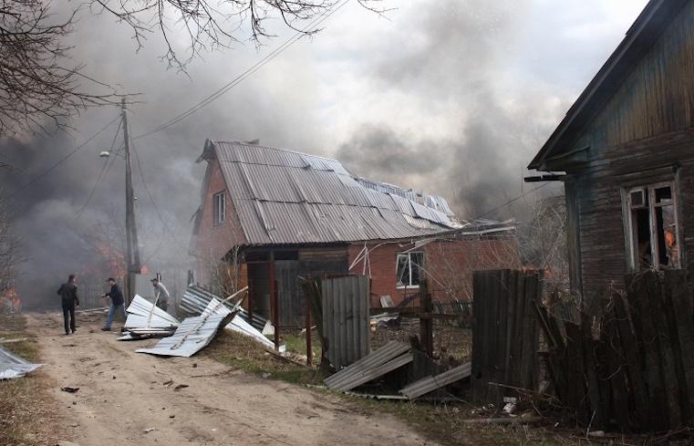 взрыв на складе пиротехники в орле