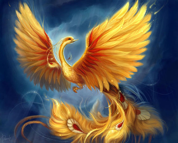 птица феникс по феншую