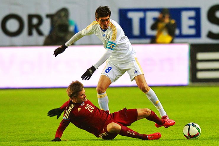 товарищеский матч россия – казахстан футбол
