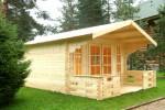Садовые дома из бруса, строим своими руками