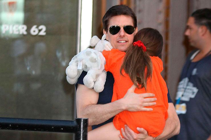 том круз и его дочь фото