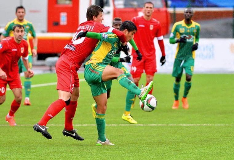 уфа - кубань футбол 25 тур премьер-лиги россии