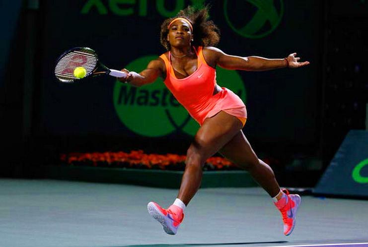 серена уильямс большой теннис турнир в майами
