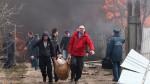 Взрыв пиротехники в Орле видео