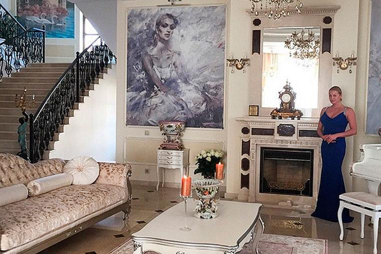 новый дом волочковой фото