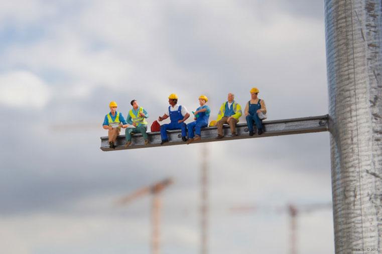 рабочие в москве