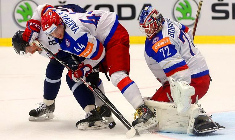 матч словакия - россия чм по хоккею 2015
