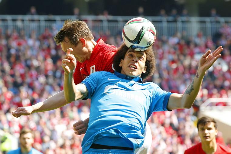 спартак - зенит футбол 26 тур российской премьер-лиги
