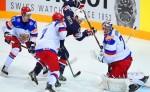 На ЧМ по хоккею в Чехии состоялись полуфиналы