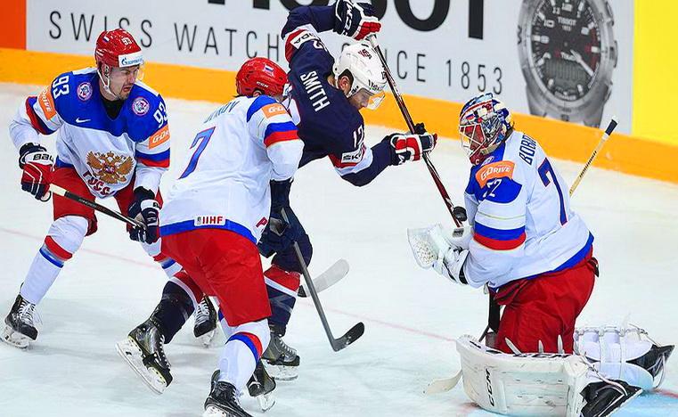 матч сша – россия чм по хоккею в чехии