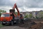Для переселения из ветхого жилья, в Новотроицке началось строительство дома