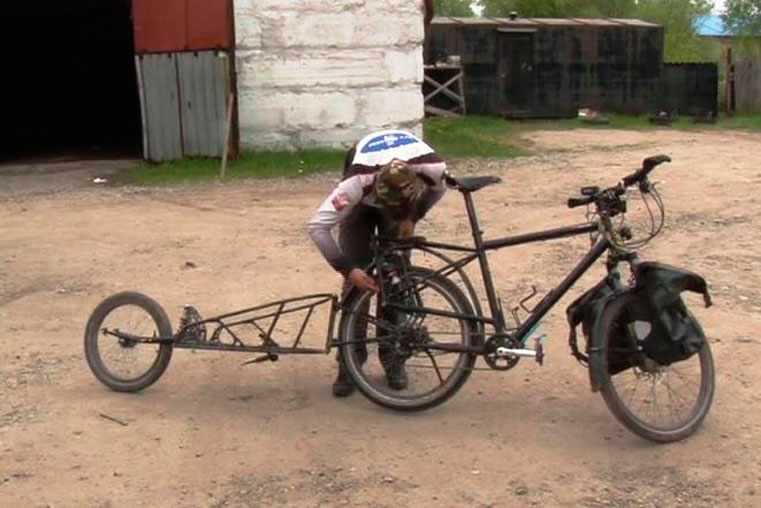 у австрийца украли велосипед