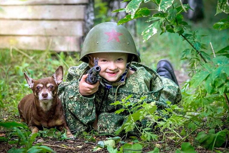 военная одежда для детей