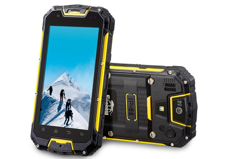 крепкий толстый смартфон для обороны фото Snopow-M9