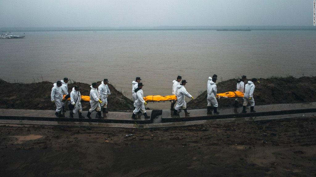 Затонул паром в Китае, фото 1